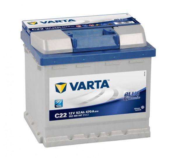 VARTA BLUE DYNAMIC 52Ah 470A 552400047